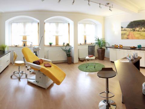 Behandlungszimmer im Kosmetikstudio